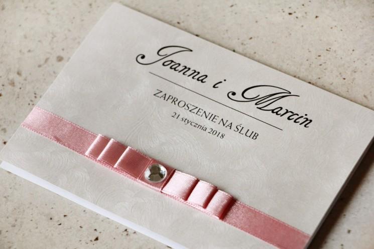 zaproszenia ślubne kolekcja amaretto