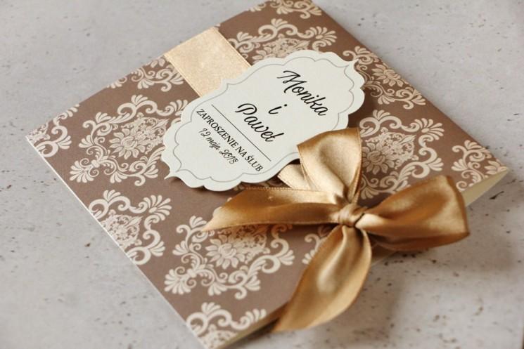 zaproszenia ślubne kolekcja ornament