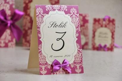 Numery stolików Ornament nr 7