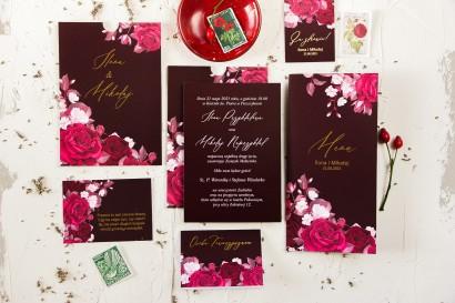 Zestaw próbny zaproszeń ślubnych z kolekcji Serenity nr 2 - Amelia-Wedding.pl