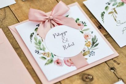Zaproszenia ślubne Akwarele...