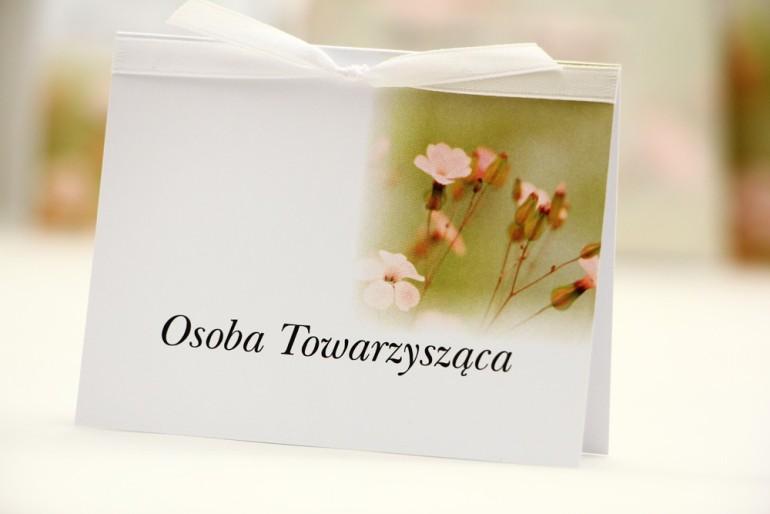 Winietki na stół weselny, ślub - Elegant nr 29 - Polne kwiaty - kwiatowe dodatki ślubne