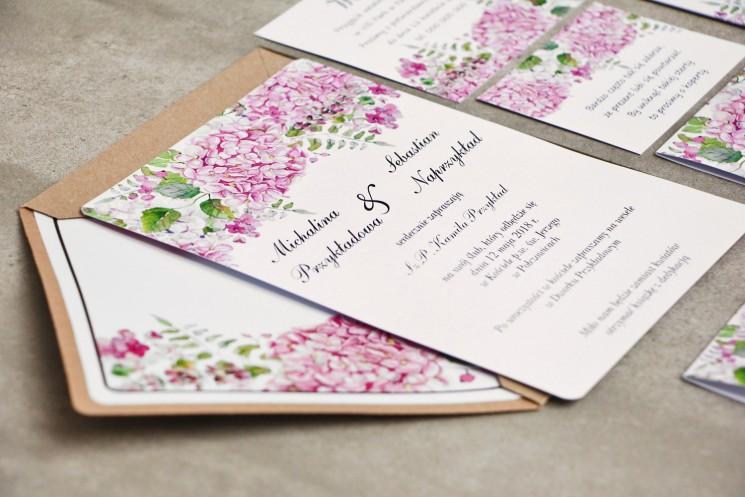 zaproszenia ślubne z kolekcji sorento