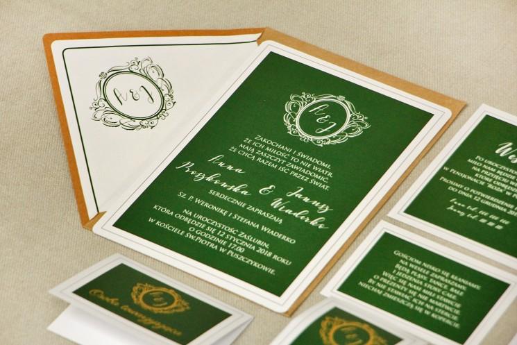 zaproszenia ślubne z kolekcji sonata