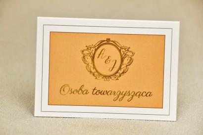 Winietki na stół weselny - Sonata nr 8 - dodatki ślubne, akcesoria weselne