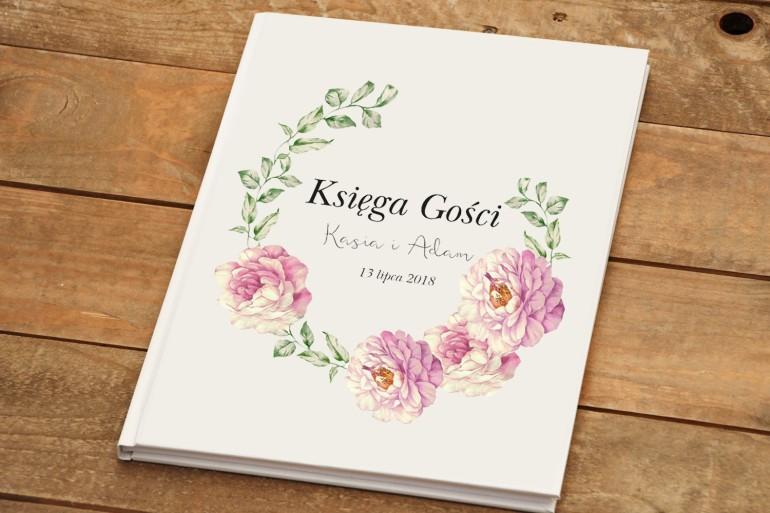 Księga Gości - Kalia nr 6 - dodatki ślubne kwiatowe