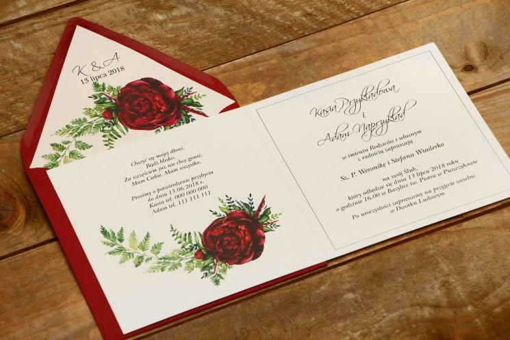 zaproszenia ślubne kolekcja kalia