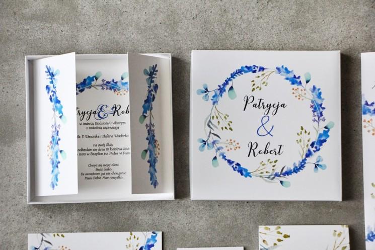 zaproszenia ślubne z kolekcji pistacjowej