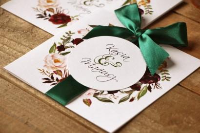 Zaproszenia ślubne Malowane...