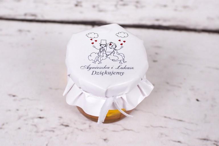 Miody z kolekcji Bueno nr 3 - upominek dla gości ślubnych, weselnych