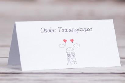 Winietki, wizytówki na stół weselny z kolekcji Bueno nr 7