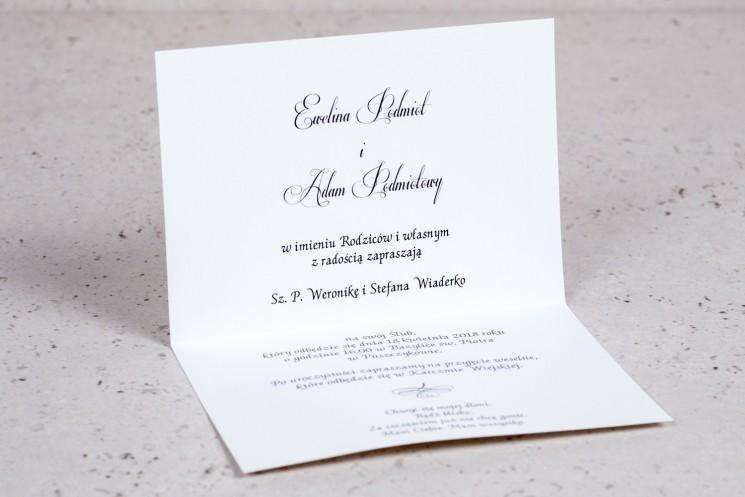 zaproszenia ślubne - kolekcja arte