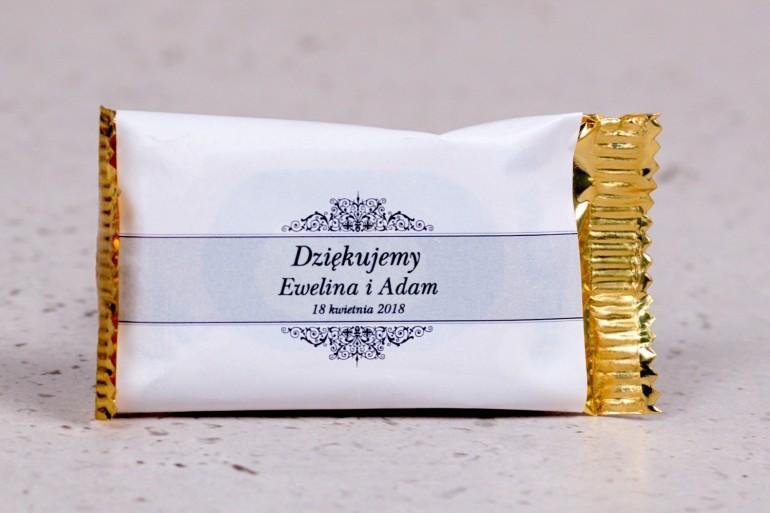 Ślubne czekoladki to słodkie podziękowania dla gości weselnych - kolekcja Arte nr 5