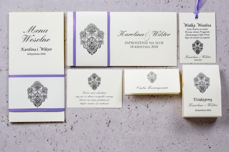 kolekcja moreno - zaproszenia ślubne