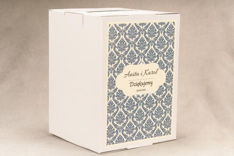 Ślubne pudełka na ciasto Veronessa -Pudełka na ciasto-prostokątne