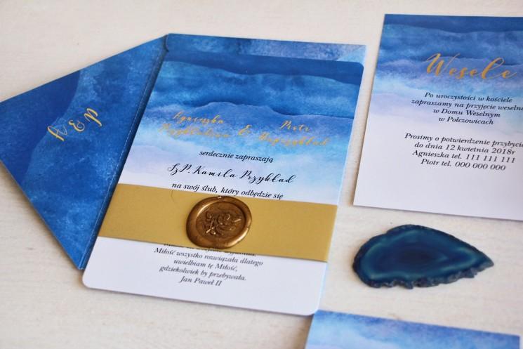 zaproszenia ślubne z kolekcji delfina