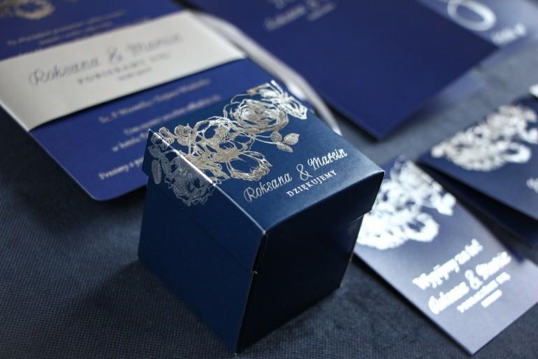 podziękowania dla gości weselnych ze srebrzeniem