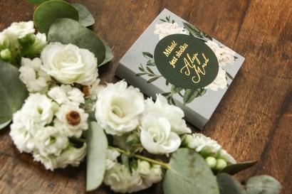 Podziękowanie dla gości weselnych w postaci mlecznej czekoladki - Soreli nr 1