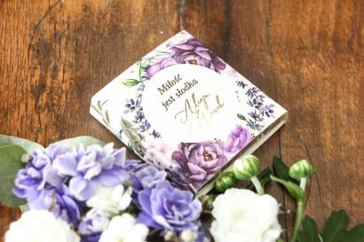 Podziękowanie dla gości weselnych w postaci mlecznej czekoladki - Soreli nr 4