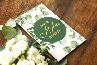 Podziękowania dla gości weselnych w formie nasion z kolekcji Soreli nr 5