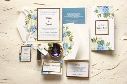 Zestaw próbny zaproszeń ślubnych z kolekcji Avril nr 1
