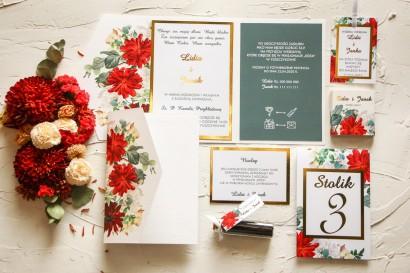 Zestaw próbny zaproszeń ślubnych z kolekcji Avril nr 4