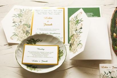 Próbka Zaproszenia Ślubnego z kolekcji Avril nr 2