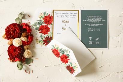 Próbka Zaproszenia Ślubnego z kolekcji Avril nr 4