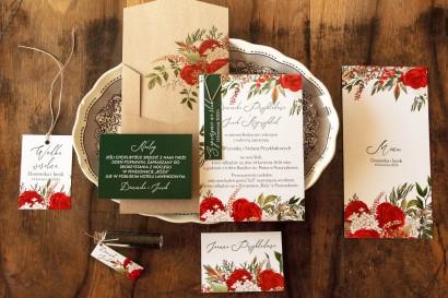 Zestaw próbny Zaproszeń Ślubnych z kolekcji Delize nr 2