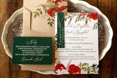 Próbne Zaproszenie Ślubne z kolekcji Delize nr 2