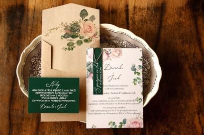 Próbne Zaproszenie Ślubne z kolekcji Delize nr 4