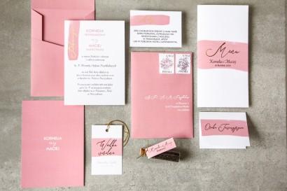 Zestaw próbny zaproszeń ślubnych z kolekcji Verte nr 2