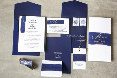 Zestaw próbny zaproszeń ślubnych z kolekcji Verte nr 3