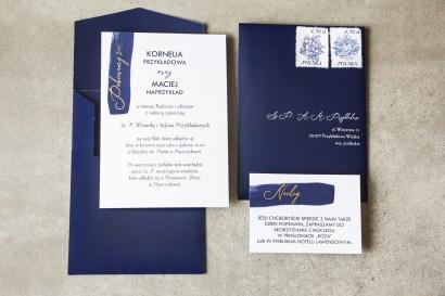 Próbne Zaproszenie Ślubne z kolekcji Verte nr 3