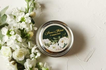 Zapachowe  świeczki na wesele jako podziękowania dla Gości