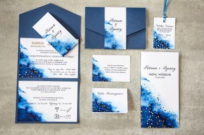Zestaw próbny zaproszeń ślubnych z kolekcji Bakarto nr 1