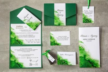 Zestaw próbny zaproszeń ślubnych z kolekcji Bakarto nr 4