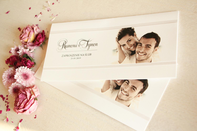Kolekcja Zaproszeń ślubnych ze zdjęciem