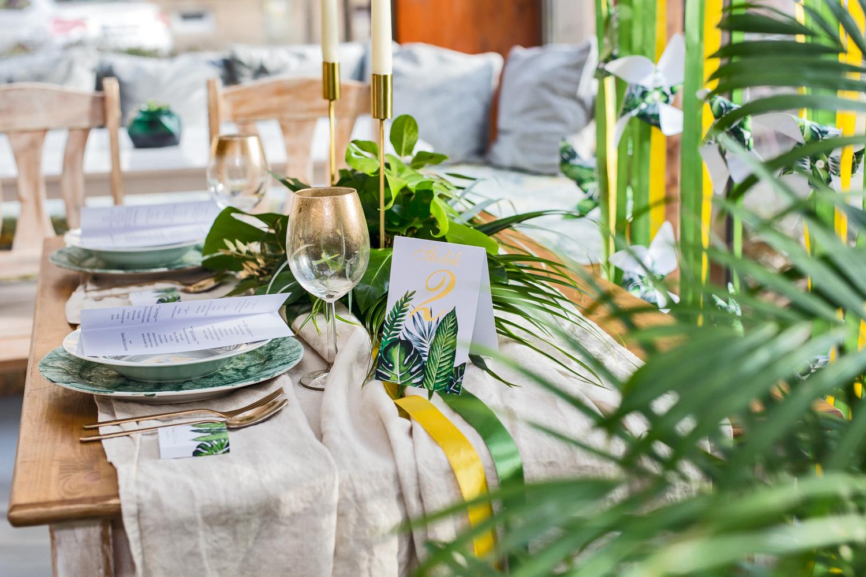 Papeteria ślubna w stylu greenery - Sorento nr 12